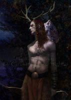 Cernunnos Detail by Taurina