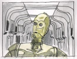 C3PO by SkyWookiee