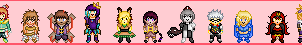 TI - Cirque des Jouets Sprites by LordFluffers
