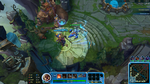 Blue League of Legends updated Overlay by m3ndi3
