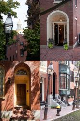 Stock Cobble Stone Road and Brick Buildings Set II by Reikantuyoi