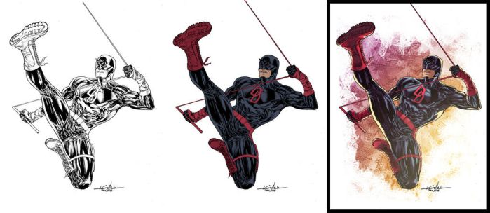 All-New Daredevil walk preview by dwa-cztery