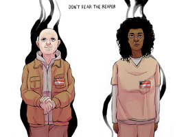 Don't Fear the Reaper (oitnb spoilers) by Kirokokori