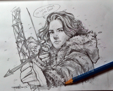 Ygritte by ermitanyongpalits