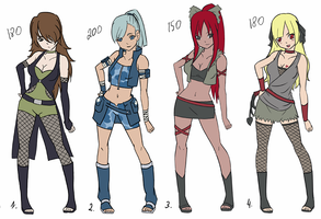 Adoptables 7 by Fimii