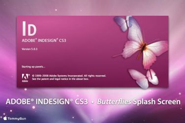 Adobe InDesign - Butterflies by TommyGun96