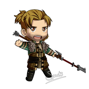 Anders Chibi by SparksReactor
