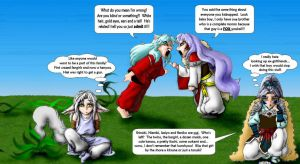 Family Squabbles by Colanah