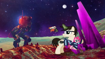 No Mans Sky pic for Template by HarukoHoshiko
