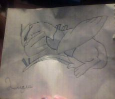 Lugia by AbyssinalPhantom
