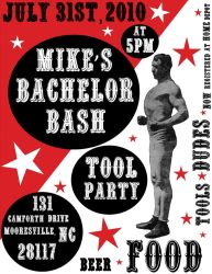 Big Boy Bachelor Party Invite by UncommonARTicles