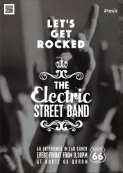 Band Poster 02 - Rock Sessions by cyrusmuller