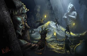 The Lost Tomb of the Heretic Pharaoh by chriskuhlmann
