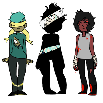 mystery mutant  Adopts (closed! by queer-fullof-fear