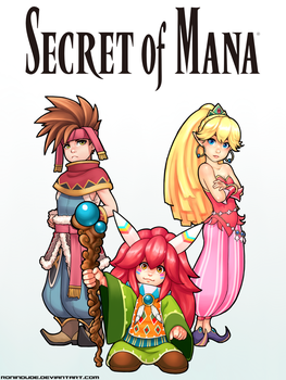 Secret of Mana Heroes by RoninDude