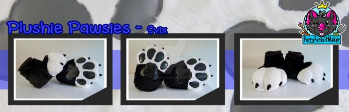 Plushie Pawsies - Svix by FurryFursuitMaker