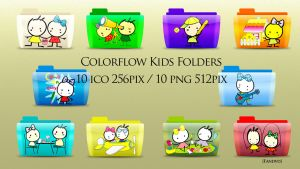 Colorflow Kids Folder icons by fandvd