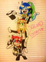 Welcome To Our Squad! by Coffee-Karin