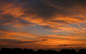 Sunset from my balcony by bogas04