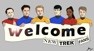 Star Trek - The Next Generation of Fans. by kafers