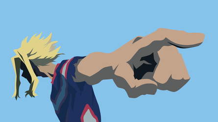 All Might 3 - My Hero by travp333