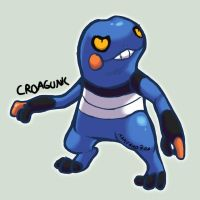 Croagunk by Maplebird