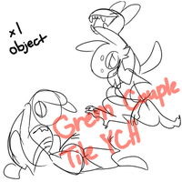 Grem Couple Tile YCH Auction [CLOSED] by Sweet-n-treat