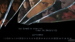 September Magnett Calendar by Emengeecupcake