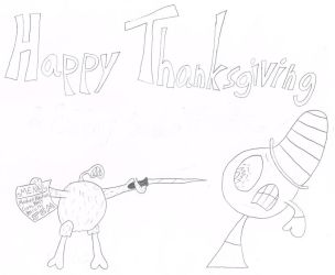 Happy Thanksgiving 2016 by thecrazyworldofjack