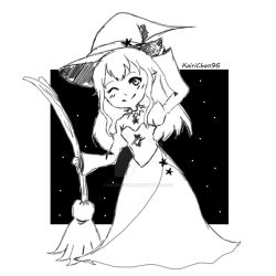 .:Little Witch:. by KairiChan96