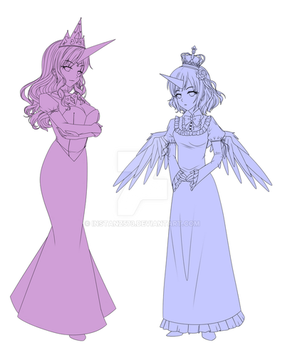 WIP: Princesses ! by Instanz573