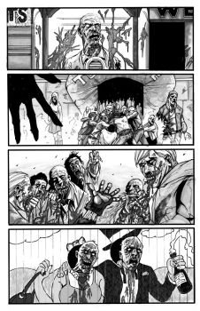 ZOMBIE COMIC P2 by thisismyboomstick