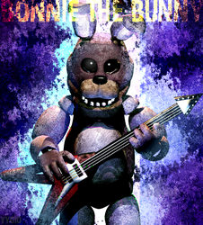 C4D|Bonnie Poster by YinyangGio1987