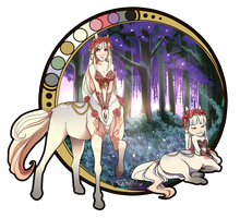 Centaur Adoptable (Auction) CLOSED by Belliko-art