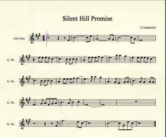 Silent Hill - Promise for Alto Sax by MrConan42