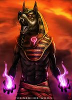 ANUBIS - Clash of Gods by The-Last-Phantom
