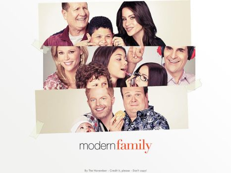 Modern Family Wallpaper 1 by thenovember