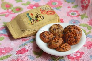 Chocolate chip cookies - Clay by thinkpastel