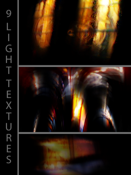 9 light textures by Kiho-chan