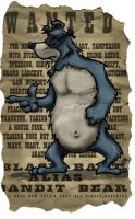 'Bart the Bear' parchment by R0tti