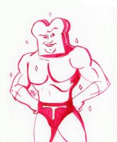 Daily Sketch: Powdered Toast Man by Hunchy