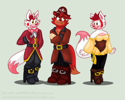 The Foxy Pirates by HTF-ADTI-MLP100606