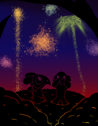 Fireworks - Harlow's First Festival - Pt 7 by Ask-Splash-Sparkz