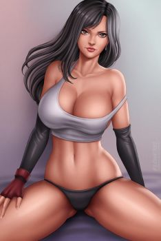 Tifa Lockhart by Flowerxl