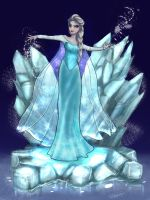 Elsa - Frozen by littlesusie2006