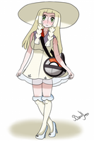 Lillie Pokemon Sun/Moon by BandiJones
