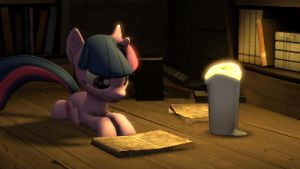 Twilight Reading - Animated by argodaemon