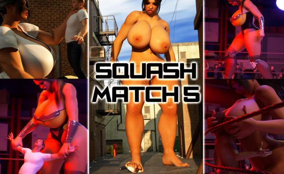 Squash Match 5 - Now Available! by RedFireD0g
