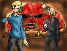 10 Days of Doctor Who Challenge: The Beast by ElementalAngel