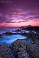 Bamburgh Castle II by jamesholephoto